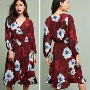 Anthropologie Aleah Dress by Tracy Reese Floral XL